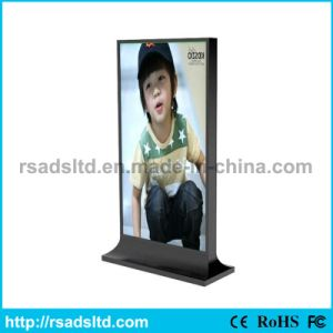 Double Sided Floor Standing Scrolling Light Box