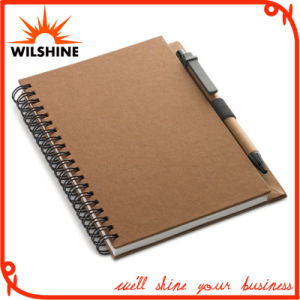 Quality Spiral Notebook with Full Color Printed Cardboard Cover (SNB110) pictures & photos