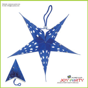 Blue Lacer Star Paper Lantern pictures & photos