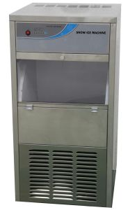 130kgs Snow Ice Machine for Supermarket Fresh pictures & photos