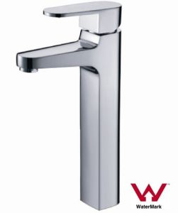 Watermark Single Handle Water Saving Brass Basin Faucet (HD4900) pictures & photos