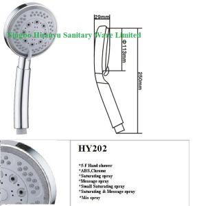 5 Function Shower Head pictures & photos