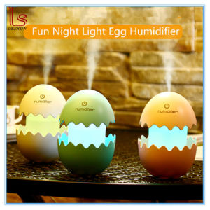 Fun Mute LED Light Egg Air Humidifiers pictures & photos