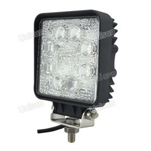10-80V 4inch 24W 8X3w LED Work Light for Folklift pictures & photos