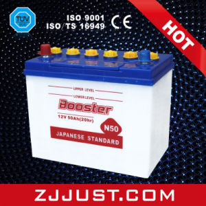 Dry Cell Storage Car Battery N50 12V50ah pictures & photos