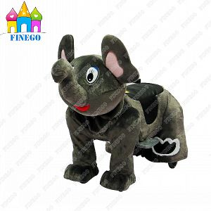 Finego Children Elephant Kids Walking Indoor Animal Scooter Rides pictures & photos