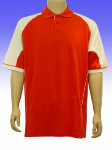 Men′s Short Sleeve Polo Collar T-Shirt pictures & photos