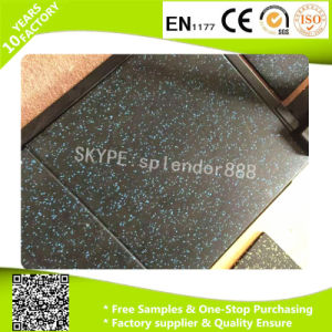Fadeless Fitness Rubber Floor/ Gym EPDM Rubber Flooring pictures & photos