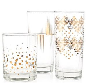 High Quality Shiny Metallic Gold Whisky Glass 11oz pictures & photos