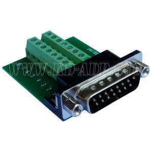 dB15 Male Connector for Field Termination (DB15MT)
