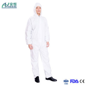 Medical Disposable PP Nonwoven Coveralls for Miner pictures & photos