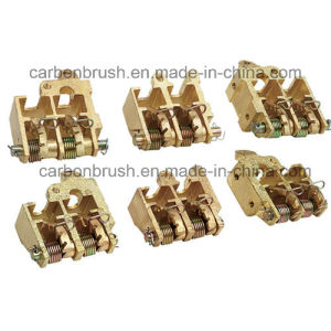 Grounding carbon brush and holder for tinned assembly line of steel plant pictures & photos