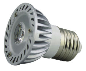 Alumimium 1W E27 Spot LED Lamp (Item No.: RM-dB0011)