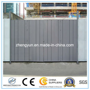 Construction Site Gate of High Quality pictures & photos