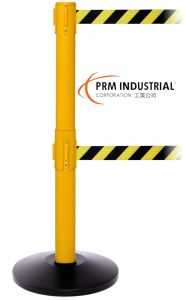 """Safetypro Twin 2"""" Belts Heavy Duty Portable Retractable Barrier pictures & photos"""