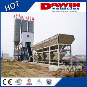 25-75m3 /H Mobile Concrete Mixing Batching Plant with Factory Price pictures & photos
