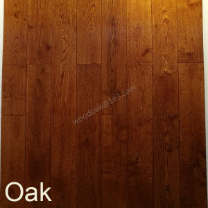 Wood Flooring for White Oak / Oak Flooring with UV Lacquer pictures & photos