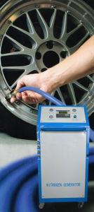 Vehicle Tire Use Nitrogen/N2 Generator pictures & photos