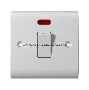Bs6 Series Bs6-20 Wall Switch with Different Color and Design pictures & photos