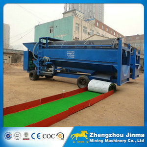 High Quality China Alluvial Gold Trommel for Alluvial Gold Washing