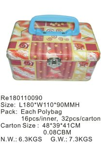 Handle Box for Food/Tea/Gift/Candy/Cookies/Chocolate/Stationary pictures & photos