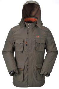 320t Nylon Taslon Men′s Outdoor Fishing Jacket pictures & photos