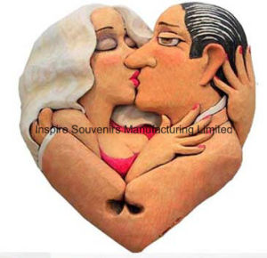 Lover Resin Fridge Magnet for Collection (PMG039) pictures & photos