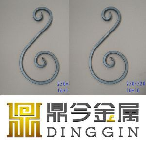 New Design Standard Scroll/Bowed Balusters pictures & photos