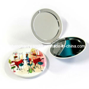 Hot Sale Metal Fashion Compact Mirror (XS-M0094) pictures & photos