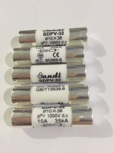 10*38 1000V DC Fuse for PV Combiner Box Parts pictures & photos