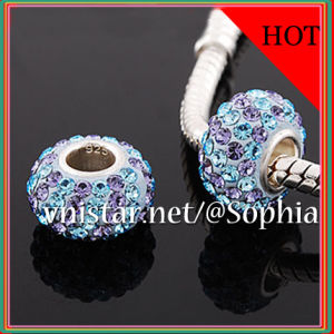 925 Silver Beads (PSS837-24)