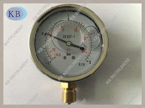 Best Quality Pressure Gauge Glycerine Oil Filled pictures & photos