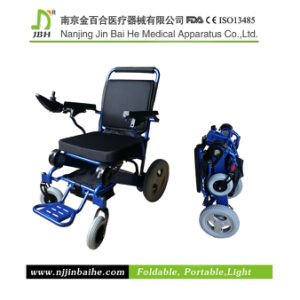 Folding Power Wheelchair for Rehabilitation Therapy pictures & photos
