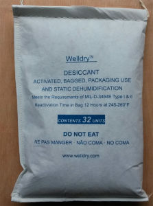 32 Unit Activated Clay Desiccant in Sewn Polyester Non-Woven Bag, Meet Mil-D-3464e, DIN55473 pictures & photos