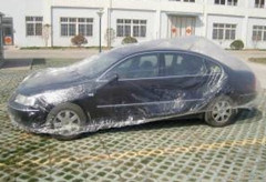 Environment-Friendly Plastic Car Dust Cover pictures & photos