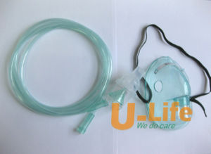 Disposable Medical PVC Medical Nebulizer Mask with Tubing pictures & photos