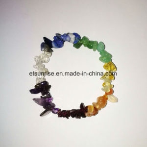 Natural Crystal Gemstone Crystal Chips Beaded Bracelet Jewellery Gift pictures & photos