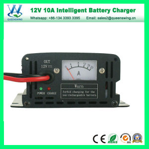 12V 10A Intelligent Storage Lead-Acid Battery Charger (QW-B10A) pictures & photos