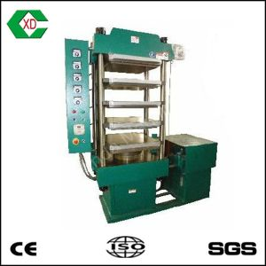 Vulcanizing Press Rubber Tile Machinevulcanization Machine for Rubber Tiles pictures & photos
