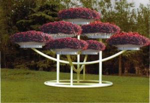 Outdoor Garden Iron Art Flower Stand Chinese Manufacturers