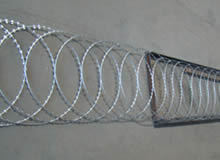 Razor Flat Fence Barbed Wire Fence