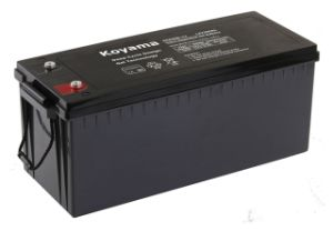12V200ah-Renewable Energy Deep Cycle Gel Battery pictures & photos