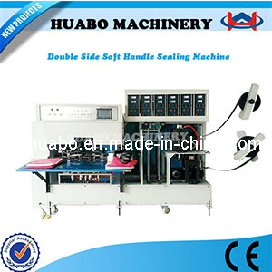 Non Woven Handle Making Machine pictures & photos