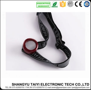 High Power Lumens Rechargeable CREE LED Headlamp with Adjustable and Elastic Nylon Headband pictures & photos