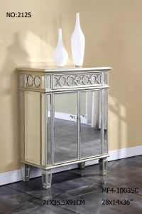 Big Storage Mirrored Furniture with Drawer Cabinet pictures & photos