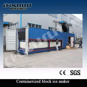 1t, 3t, 5t, 10t, 15t, 18t Containerized Block Ice Machine pictures & photos