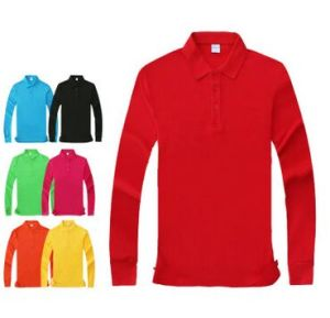 Custom Different Colors, Sizes, Materials, Logos, Long Sleeve Polo T Shirt pictures & photos