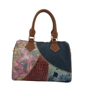 2016 High Quality Fashion Designer Leather Lady Tote Brand Handbag pictures & photos