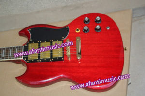 Mahogany Body & Neck / Afanti Electric Guitar (ASG-525) pictures & photos