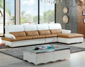 Modern Europe Style Leather Sofa, Home Furniture (928) pictures & photos